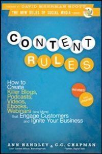 Libro de copywriting Content Rules