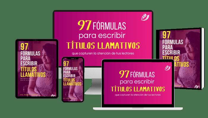 97 fórmulas para escribir títulos llamativos